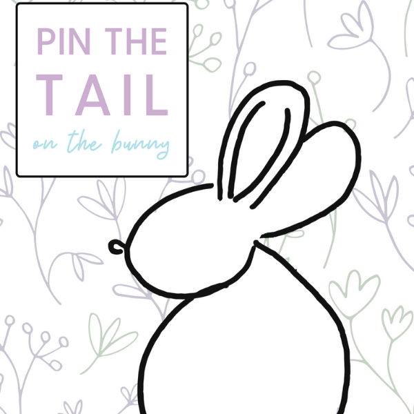 An Easter Activity: Pin the Tail on the Bunny