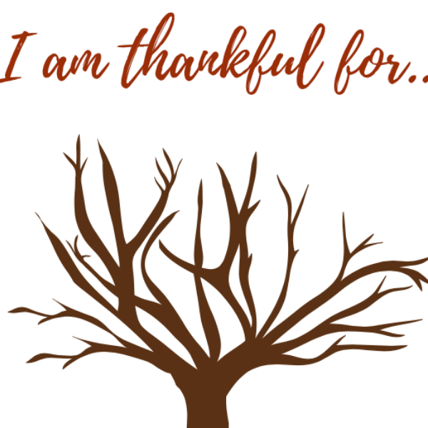 Free, Printable Thankful Tree For November